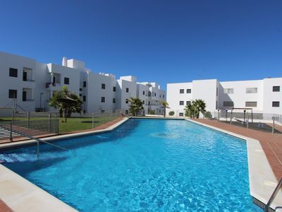 Photo for Apartment Almudena -  with commual pool and sea views
