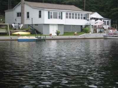Photo for Water front year round home with Boat Dock