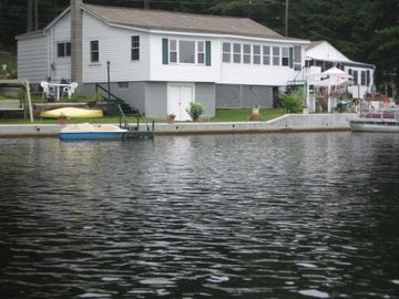 Water front year round home with Boat Dock