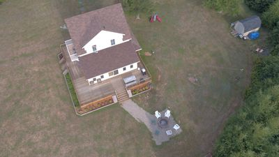 Overhead shot of 161 Osprey Lane - your home away from home!