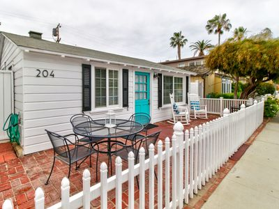 Photo for NEW LISTING! Dog-friendly with great location near shops, restaurants, and beach