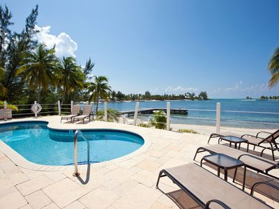 Photo for Fantasea: Cozy Cottage with a Perfect Pool on a Barefoot Beach with Backyard Snorkeling