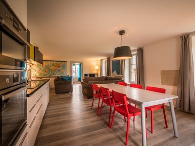 Photo for Stylish newly renovated 3 bedroom top floor apartment with wellness, lift access