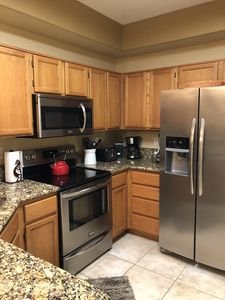 Beautiful Granite Counter Tops and New Appliances