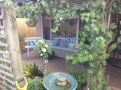 Photo for Little Port Cottage - Enjoy a bush setting and  a beach around the corner