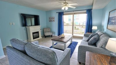 Photo for SUN-DAZED, CUTE, LAGOON SIDE UNIT WITH DEEDED BEACH ACCESS, FISHING PIER