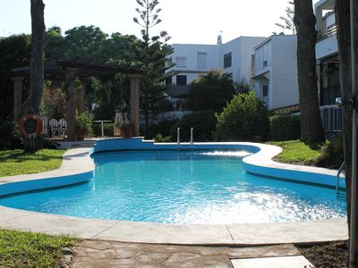 Photo for Torremolinos Costa del Sol with garden, pool and partial sea view