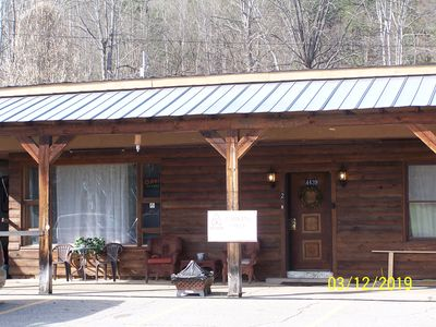 Photo for Cozy Place for your getaway or concert viewing.