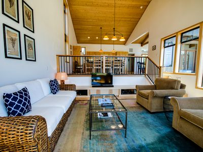 Photo for Ocean view dog-friendly home w/ private hot tub & shared pool