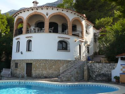 Photo for Villa with large pool in a fantastic location and fantastic view