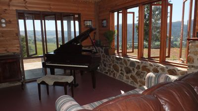 The baby grand with a view