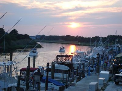WATERFRONT CONDOS... Sunsets on Lewes Harbour...!!!