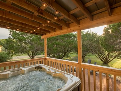 Photo for YOUR HILL COUNTRY GETAWAY ON JOHNSON CREEK!