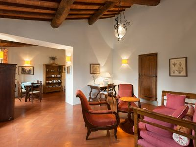 Photo for The Anforti - One bedroom holiday apartment in the beautiful Florentine hills