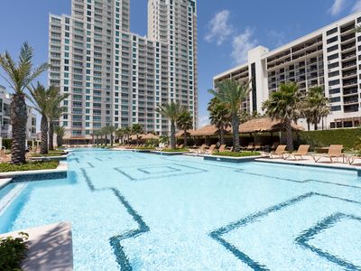 Photo for Oceanfront Condo at the Sapphire Resort & Spa! Resort Style Pool, Gym, & more!
