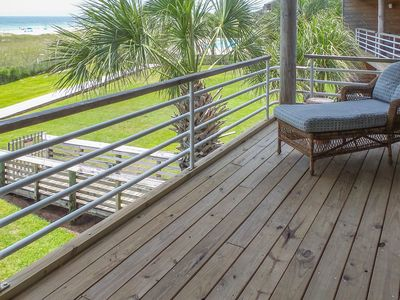 Photo for NEW LISTING! Waterfront condo with a shared pool, beach access and amazing views