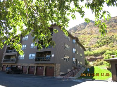 Photo for MT SOPRIS 2BD2BA CONDO QUIET CORNER UNIT PRIVATE PATIO PERFECT FOR EXTENDED STAY