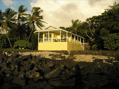 Photo for Oceanfront Family Gem - Single family house on 2 large open space lots.