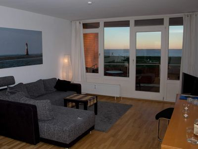 Photo for 129 Südstrand Nordsee FEWO - 129 Living on the south beach with sea views