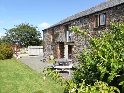 Photo for Spacious,converted barn near beach at Crackington Haven, nr. Bude.