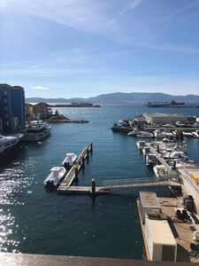 Photo for Luxury 3 bedroom apartment with stunning views of the marina and the Rock