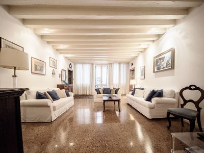 Photo for Accademia Terrazza - sleeps 6 guests  in 3 bedrooms