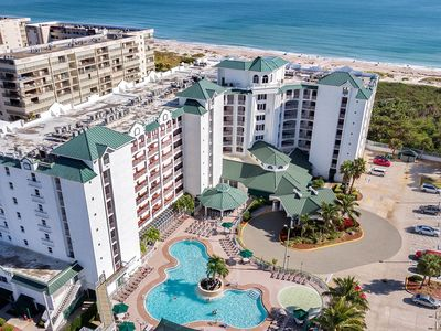Photo for Gorgeous 2BR Ocean Front Condo - Nicest Resort in Cocoa Beach