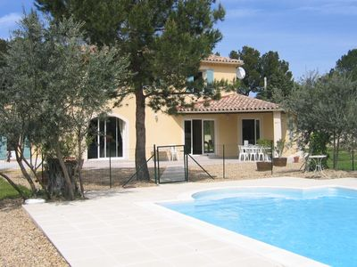 Photo for Magnificient and modern house. Provencal style. Nestled in the heart of Provence