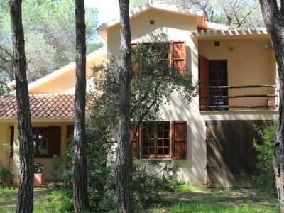 Photo for Santa Margherita di Pula villa nestled in the pine forest at 600 m from the beach