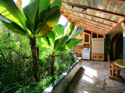 """Photo for """"Sweet Cinnamon Suite"""", an earthship. A totally Unique Experience. Near Taos, NM"""