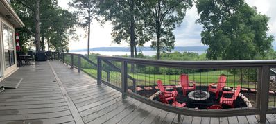 Photo for AMAZING VIEWS from Eagle Point Cottage overlooking Lake Guntersville!