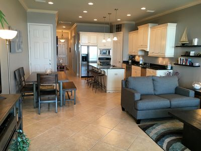 Open floor plan creating a magical group experience and homey feel.
