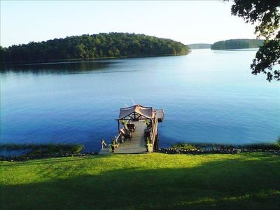 Photo for UNFORGETTABLE Views of Badin Lake & The Uwharries - Hot Tub