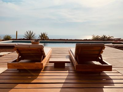 Photo for Amazing full ocean view villa with private pool!