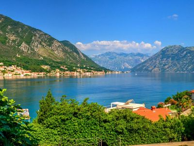 Photo for Seaview luxury flat in Kotor with 2 terraces