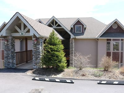 Photo for 2 Bedroom Condo with Loft Overlooking the Blue Ridge Mountains