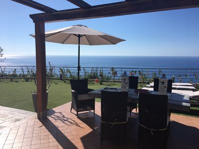 Photo for New Villa With Breathtaking Views Of Stromboli And Tropea (with FREE WI-FI)