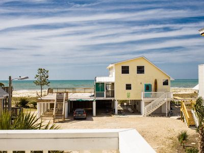 Photo for Stunning Gulf Beach Home~Ocean View-(Fishing) Kayaks, Pets, Green Egg~, Privat