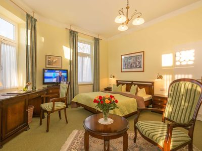 Photo for Comfort double room - Hotel Merkur only 100 m to the beach - WE6643