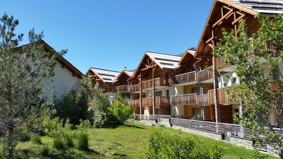 Photo for Modern three bedroom apartment with fabulous views of mountains and glacier