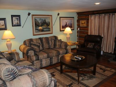 Photo for Two Bedroom Home, Sleeps Eight Just One Mile From Yellowstone's Main Entrance