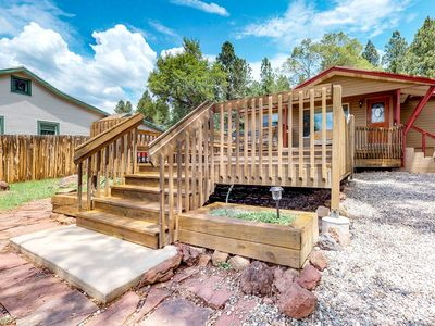 Photo for Downtown Flagstaff home w/large deck, free WiFi & great views!