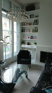 Photo for Beautiful parisian loft in Paris le Marais near Place des Vosges