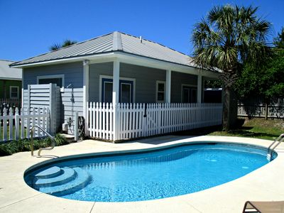 Photo for 5 min walk (1/2 block) to beach, Private Pool, 2 Houses, SLV