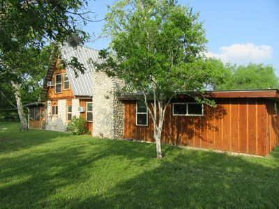 Photo for Nueces River Front Cabin in Beautiful Texas Hill Country