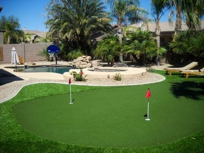 Chandler House with Backyard Resort: Putting Green, Pool and Spa