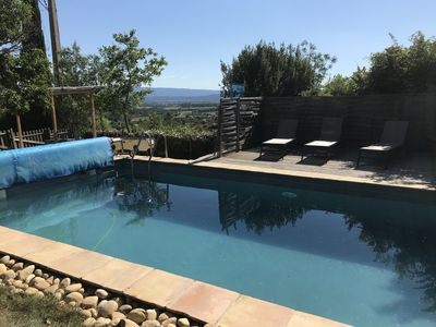 Photo for PROVENCAL HOUSE LUBERON WITH SWIMMING POOL AND BEAUTIFUL VIEW HEART LUBERON