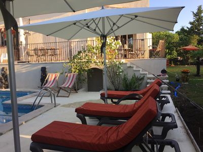 Photo for Villa 6 people, swimming pool 5x10, in Aix en Provence, 2 km from the city center
