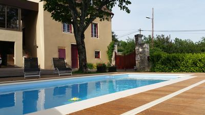 Photo for House with private pool in South Burgundy - between Chalon / Saône and Cluny