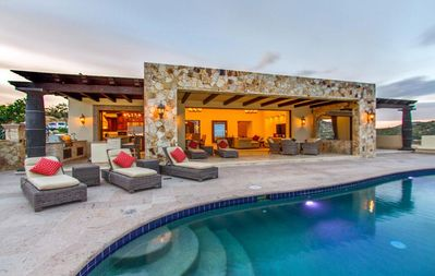 Photo for GORGEOUS LUXURY VILLA with EXQUISITE VIEWS! Includes famous Puerto Los Cabos BEACH CLUB access!